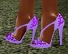 Purple Jewel Heels