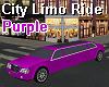 City Limo Ride - Purple