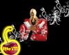 Red Oriental Silk Chair