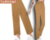 crop suit pants khaki