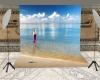 Beach Backdrop 1 Wide