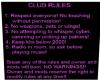 Club rules 2