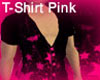 T-Shirt Black And Pink