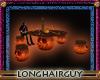 halloween pumpkin table