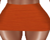 Harvest Orange Skirt