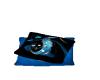 Blue cuddle pillows
