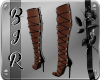 "[BIR]Lace Heels *Black*"""