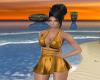 -1m- sexy gold minidress