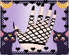 FOX fishnet gloves
