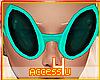 ! Agua Alien Sunglasses