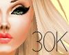 30K Sticker