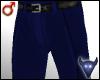 Blue suit pants (m)