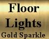 FloorLights Gold Sparkle