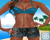 [BB] Summer Shortie Teal