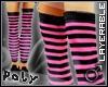 Skinnyboy Socks blk/pink
