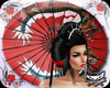 ! Geisha Umbrella 20p