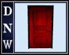 Red Door Black Frame