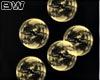 Gold Bubbles Club Effect