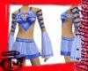 Kaitlin Blue Heart Skirt