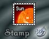 Quarter Sun Stamp