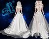 Æ*Rose Lace Wedding Gown