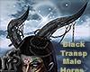 Black Transp Male Horns