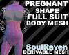 Pregnant FS Body Mesh