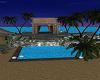 Small beach island