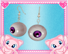 MEW eye earings