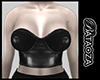 Leather crop