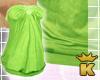 {K} Green Tube Top