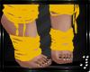 Feet Wraps -Yellow-