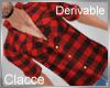C derv plaid shirt