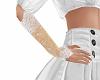 flower girls lace gloves