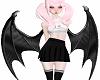Black Succubus Wings