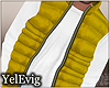 [Y] Yellow puff vest M