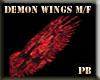 (PB)Demon Wings M/F