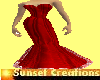 Diva RedPassion gown