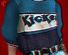 + kickes. ticked sweater