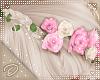 !D! Hair Flower Pink