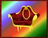 Sleigh Chair Gold