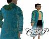 Elegant Robe Teal
