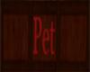 Pet sign for Market