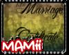 Marriage Cert. Nikki
