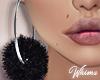 Luscious Fur Earrings