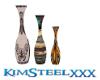3 Native vase