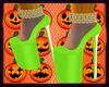 Pumpkin!! Green Heel