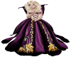 Child Princess Gown Purp