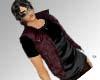 Chocolate brown vest