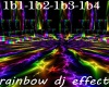 Rainbow Dj Effect